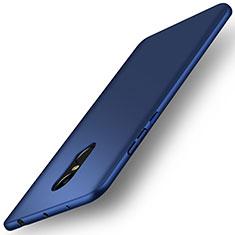 Etui Plastique Rigide Mat pour Xiaomi Redmi Note 4X High Edition Bleu