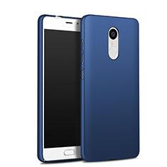 Etui Plastique Rigide Mat Q03 pour Xiaomi Redmi Note 4X High Edition Bleu