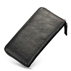 Etui Pochette Cuir Universel H09 pour Huawei Enjoy 8e Lite Noir