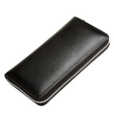 Etui Pochette Cuir Universel H12 pour Huawei Honor Magic 2 Noir