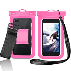 Etui Pochette Etanche Waterproof Universel W05 pour Huawei Enjoy 9 Plus Rose