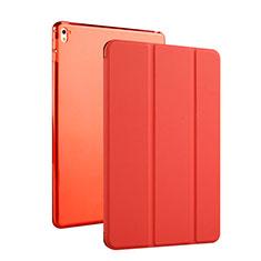 Etui Portefeuille Cuir Bequille pour Apple iPad Pro 9.7 Rouge