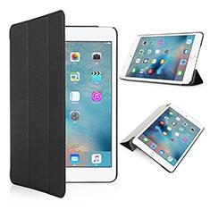 Etui Portefeuille Cuir Mat pour Apple iPad Pro 9.7 Noir