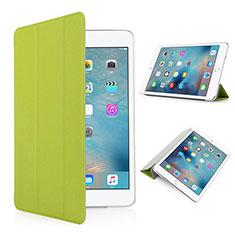 Etui Portefeuille Cuir Mat pour Apple iPad Pro 9.7 Vert