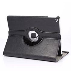 Etui Portefeuille Cuir Rotatif pour Apple iPad Mini 4 Noir