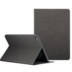 Etui Portefeuille Livre Cuir L01 pour Apple iPad Mini 4 Noir