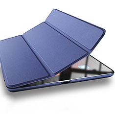 Etui Portefeuille Livre Cuir L03 pour Xiaomi Mi Pad 3 Bleu