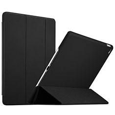 Etui Portefeuille Livre Cuir L08 pour Apple iPad Mini 4 Noir