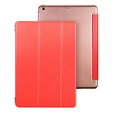 Etui Portefeuille Livre Cuir pour Apple iPad Air Rouge