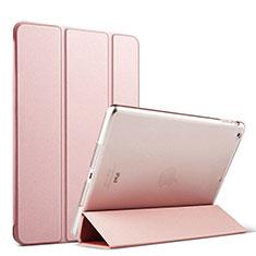Etui Portefeuille Livre Cuir pour Apple iPad Mini Or Rose