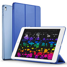 Etui Portefeuille Livre Cuir pour Apple iPad Pro 10.5 Bleu
