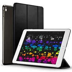 Etui Portefeuille Livre Cuir pour Apple iPad Pro 10.5 Noir
