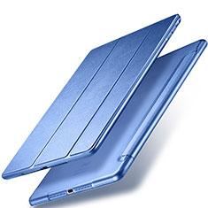 Etui Portefeuille Livre Cuir pour Apple New iPad 9.7 (2018) Bleu