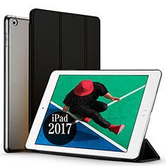 Etui Portefeuille Livre Cuir pour Apple New iPad Pro 9.7 (2017) Noir