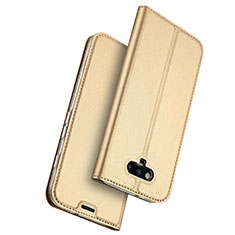 Etui Portefeuille Livre Cuir pour Huawei Honor Magic Or