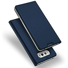 Etui Portefeuille Livre Cuir pour LG V20 Bleu
