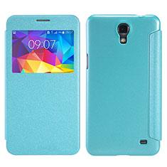 Etui Portefeuille Livre Cuir pour Samsung Galaxy Mega 2 G7508Q Vert