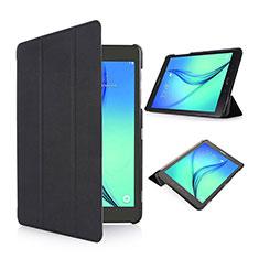 Etui Portefeuille Livre Cuir pour Samsung Galaxy Tab S2 8.0 SM-T710 SM-T715 Noir