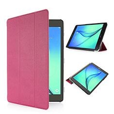 Etui Portefeuille Livre Cuir pour Samsung Galaxy Tab S2 8.0 SM-T710 SM-T715 Rose