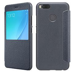 Etui Portefeuille Livre Cuir pour Xiaomi Mi 5X Noir