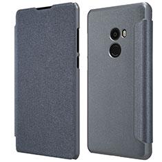 Etui Portefeuille Livre Cuir pour Xiaomi Mi Mix 2 Noir