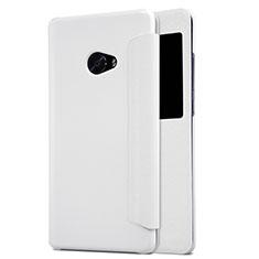 Etui Portefeuille Livre Cuir pour Xiaomi Mi Note 2 Special Edition Blanc