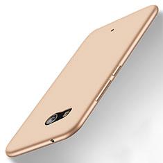 Etui Silicone Gel Souple Couleur Unie pour HTC U11 Or