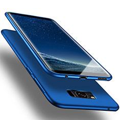 Etui Silicone Gel Souple Couleur Unie pour Samsung Galaxy S8 Plus Bleu