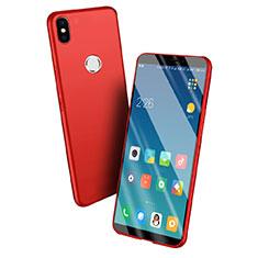 Etui Silicone Gel Souple Couleur Unie pour Xiaomi Mi A2 Rouge