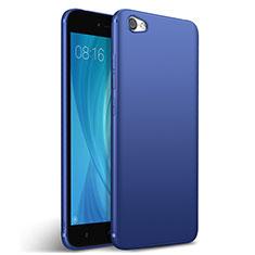 Etui Silicone Gel Souple Couleur Unie pour Xiaomi Redmi Note 5A Standard Edition Bleu