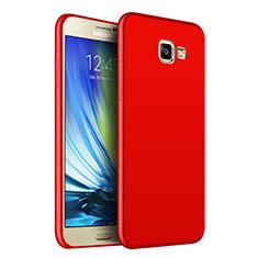 Etui Silicone Souple Couleur Unie Gel pour Samsung Galaxy J7 Prime Rouge