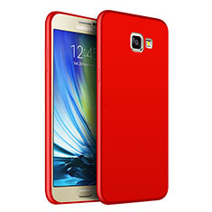 Etui Silicone Souple Couleur Unie Gel pour Samsung Galaxy On7 (2016) G6100 Rouge