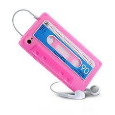 Etui TPU Souple Cassette pour Apple iPhone 4 Rose