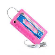 Etui TPU Souple Cassette pour Apple iPhone 4S Rose