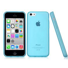 Etui TPU Souple Mat pour Apple iPhone 5C Bleu Ciel