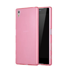 Etui TPU Souple Mat pour Sony Xperia Z5 Rose