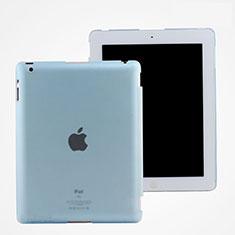 Etui Ultra Fine Plastique Rigide Transparente pour Apple iPad 4 Bleu Ciel