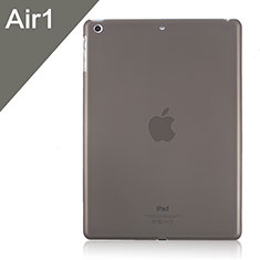 Etui Ultra Fine Plastique Rigide Transparente pour Apple iPad Air Gris