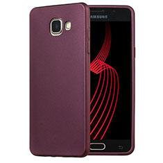Etui Ultra Fine Silicone Souple pour Samsung Galaxy A5 (2016) SM-A510F Violet
