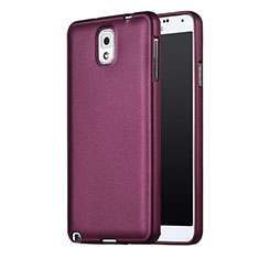 Etui Ultra Fine Silicone Souple pour Samsung Galaxy Note 3 N9000 Violet