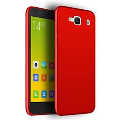 Etui Ultra Fine Silicone Souple pour Xiaomi Redmi 2 Rouge