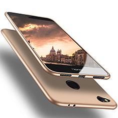 Etui Ultra Fine Silicone Souple S02 pour Huawei P8 Lite (2017) Or