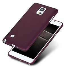 Etui Ultra Fine Silicone Souple S02 pour Samsung Galaxy Note 4 SM-N910F Violet
