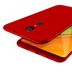 Etui Ultra Fine Silicone Souple S02 pour Xiaomi Redmi 5 Rouge