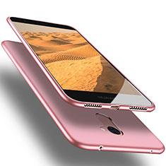 Etui Ultra Fine Silicone Souple S03 pour Huawei Y7 Prime Rose