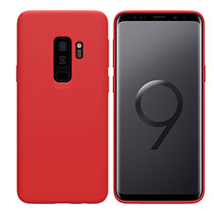 Etui Ultra Fine Silicone Souple S03 pour Samsung Galaxy S9 Plus Rouge