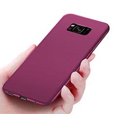 Etui Ultra Fine Silicone Souple S06 pour Samsung Galaxy S8 Violet