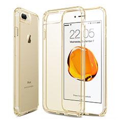 Etui Ultra Fine Silicone Souple Transparente pour Apple iPhone 8 Plus Or