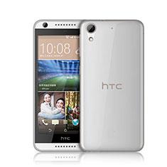 Etui Ultra Fine Silicone Souple Transparente pour HTC Desire 626 Blanc