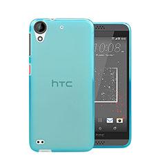 Etui Ultra Fine Silicone Souple Transparente pour HTC Desire 630 Bleu